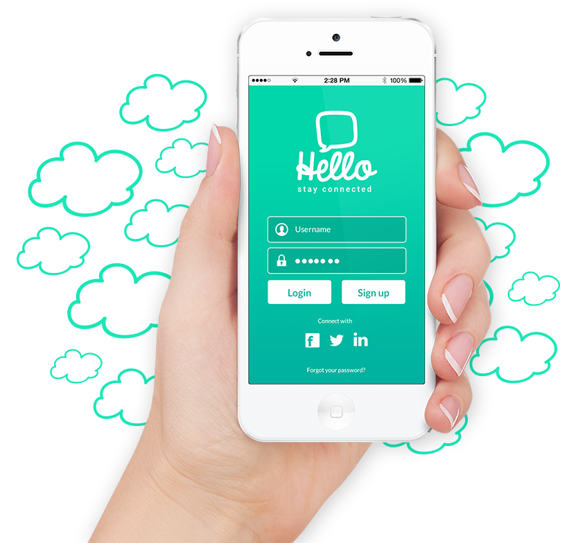 Hello - Mobile chat app